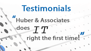 Testimonials from our IT service customers